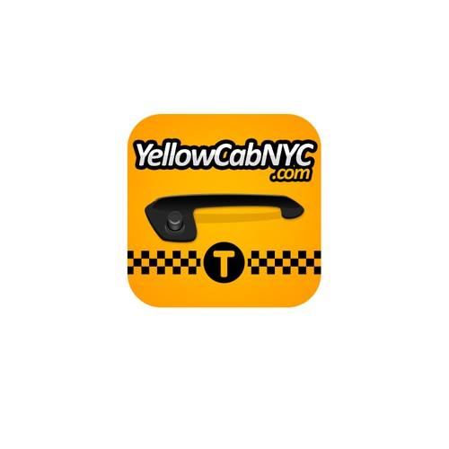 NYC Taxi iPhone App Icon
