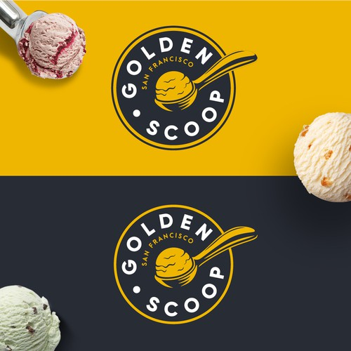 Golden Scoop Logo
