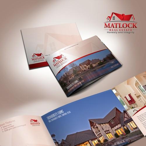 Matlock Real Estate brochure design