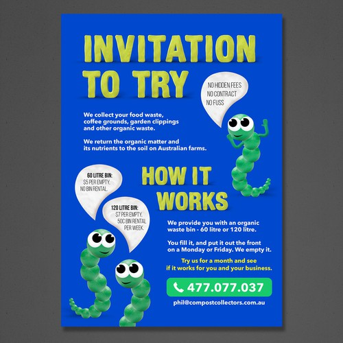Flyer for Recycling Company