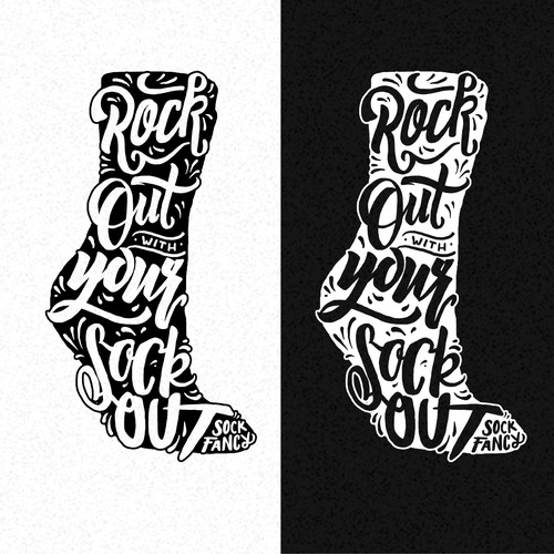 Tagline Design for Sock Company