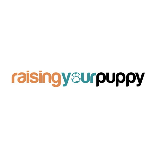 logo for videos about puppies