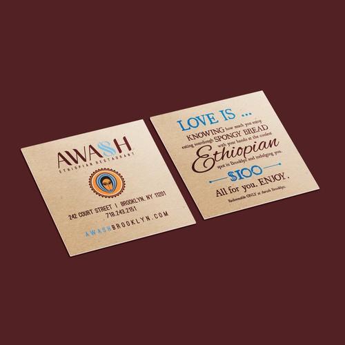 Trendy Restaurant Gift Cards