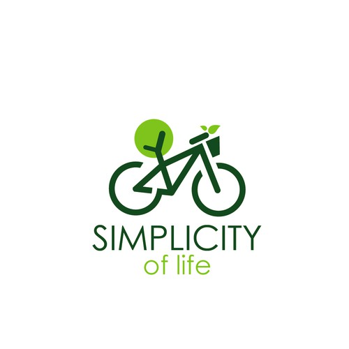 "Logo concept for ""Simplicity of life"""