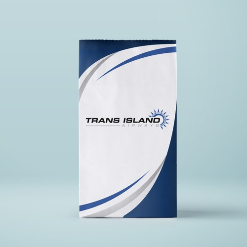 Airsick Bag Design for Trans Island Airways