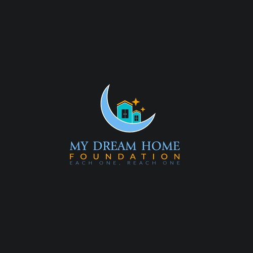 Cute Logo concept for My Dream Home
