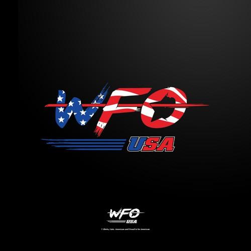 Logo design for Patriotic US clothing line