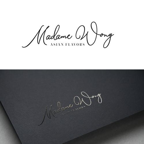 Madame Wong Logo