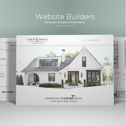 A creative and website design for house furniture..