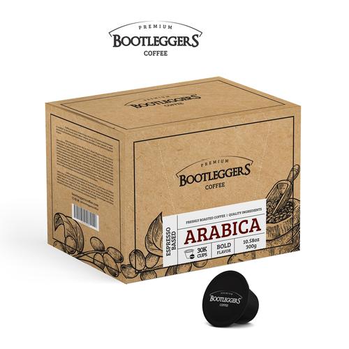 Embalagem para Bootheggers Coffee