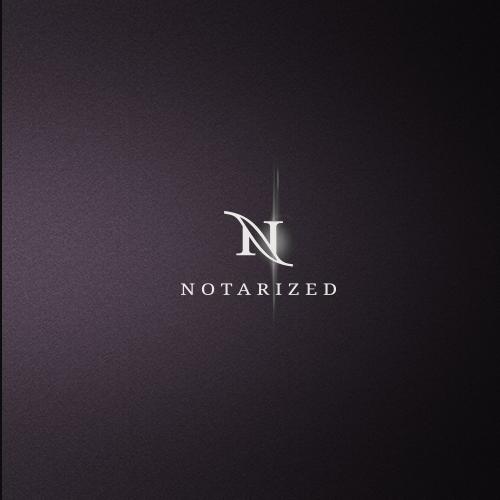 Notary signing company logo