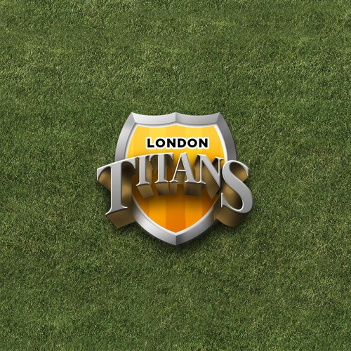 Strong logo for a football team