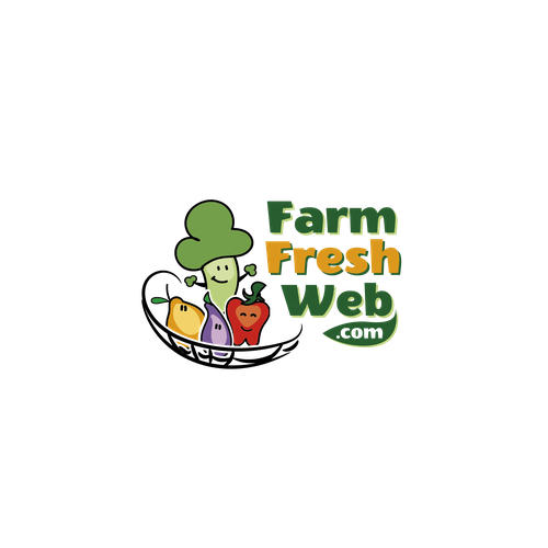 FarmFreshWeb.com logo design