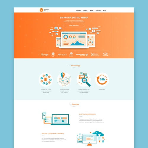 Antelope Inc web site design and coding