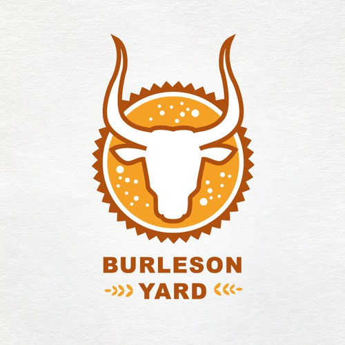 Create a logo for a Texas Craft Beer Garden & BBQ Restaurant