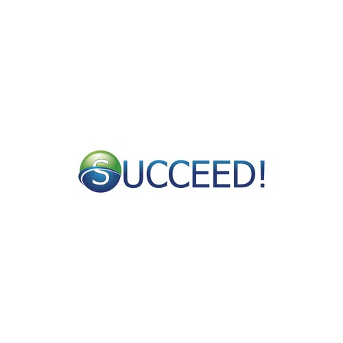 succeed logo concept