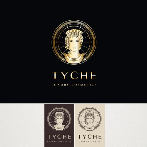 Logo for a luxury cosmetic brand