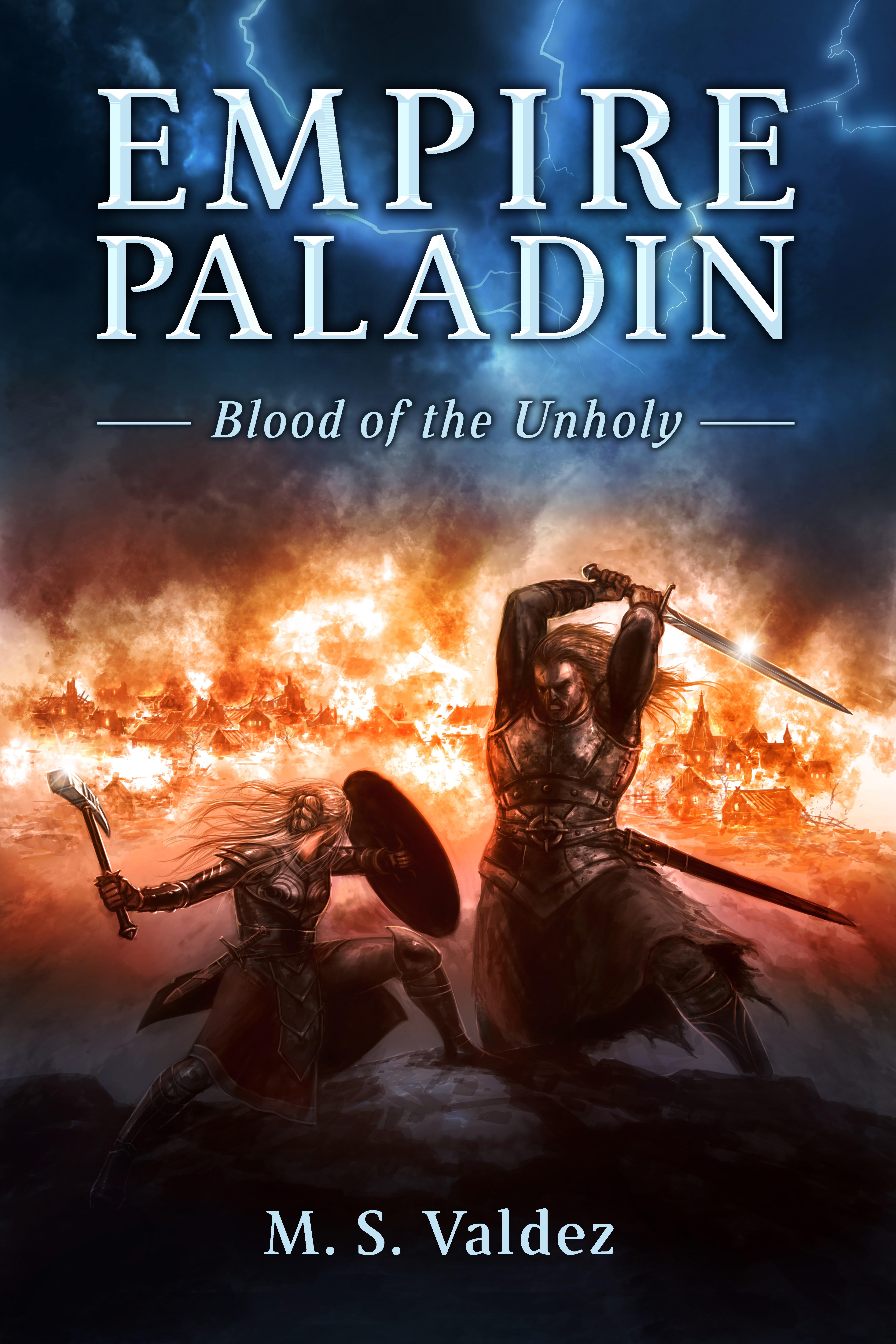 eBook cover illustration - Medieval fantasy novel.