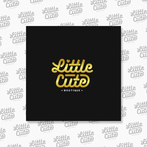 "Logotype Concept for ""Little Cute Boutique"""