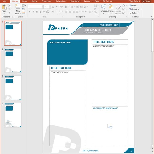 Fact Sheet Template Design