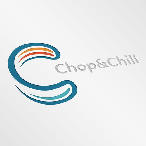 """Logo entry for """"Chop & Chill"""" contest"""