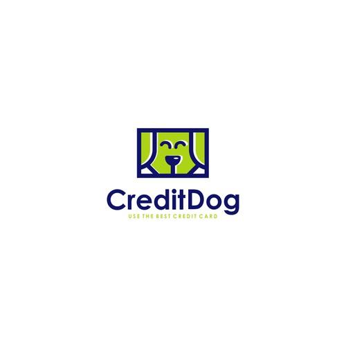The design logo of Credit Dog
