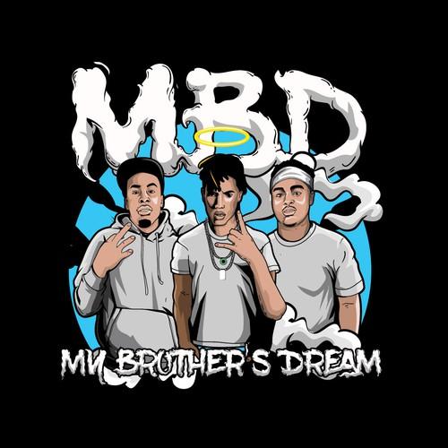 Rap Logo - MBD My Brother's Dream