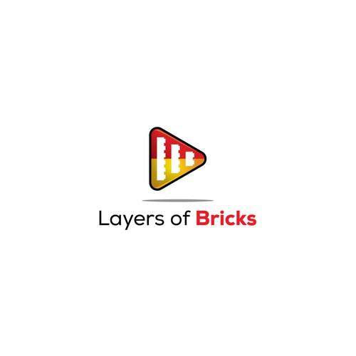 A Lego-themed logo and brand design