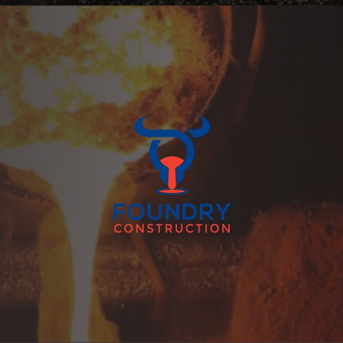 create a strong logo for foundry construction