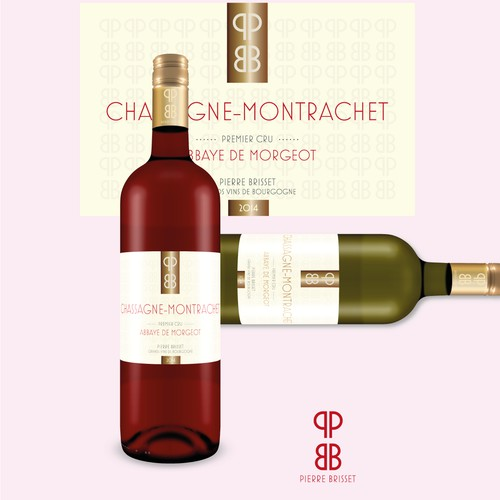 Wine label design + logo