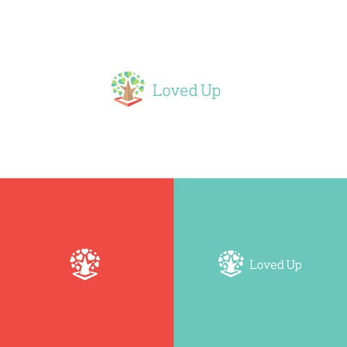 LovedUp Logo Option