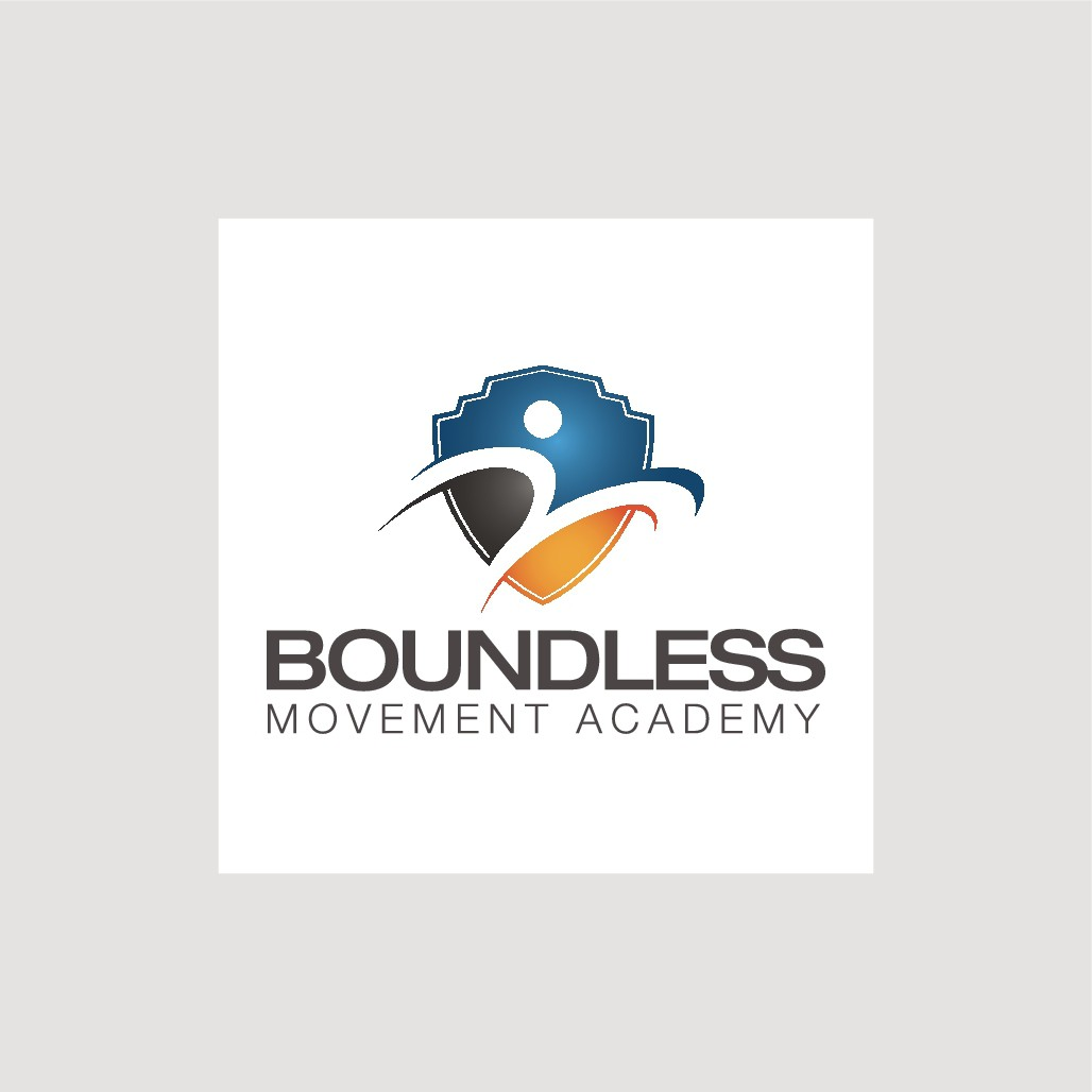Design an athletic logo for Boundless Movement Academy