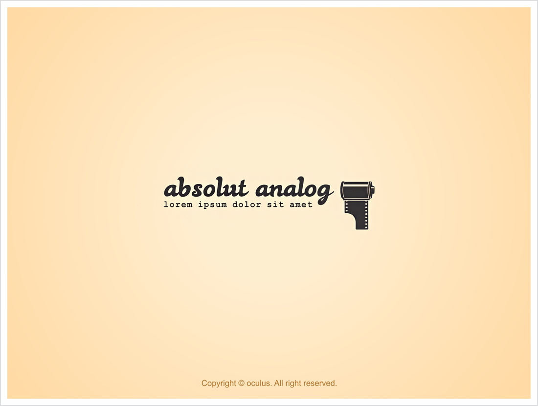 logo for Absolut Analog