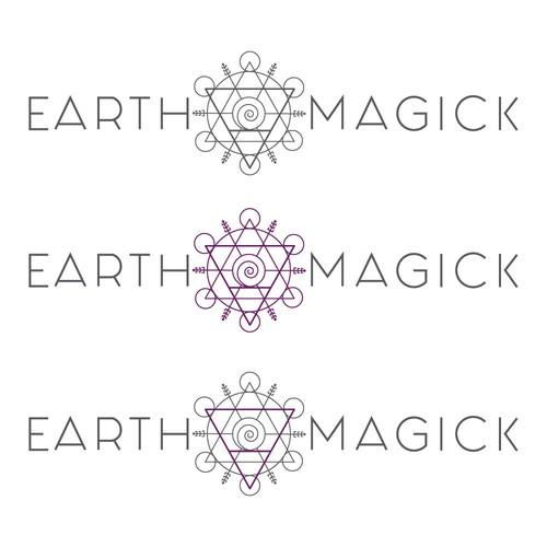 Logo Design for a Metaphysical Gift Shop