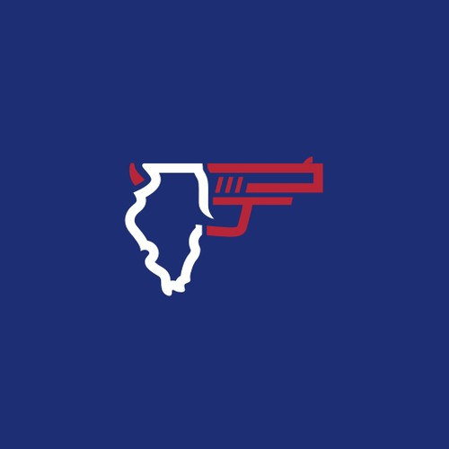 State pistol shooting championship match logo (2018 Illinois Sectional)