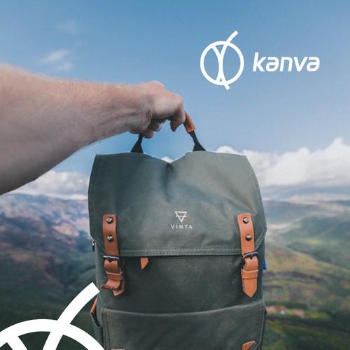 Kanva logo design