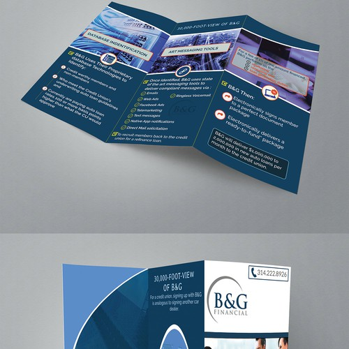 brochure for B & G FINANCIAL