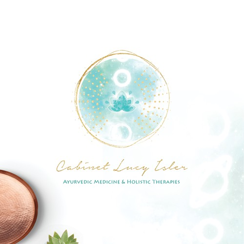 Logo Design for Holistic Therapies Cabinet