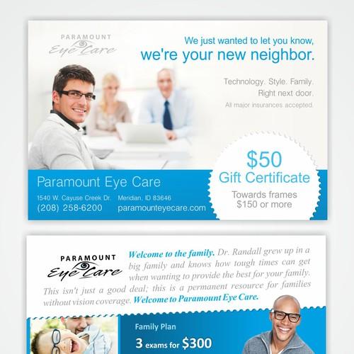Paramount Eye Care card