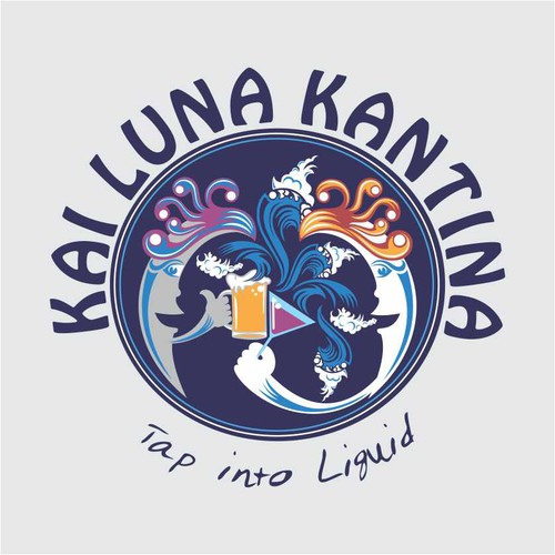 Create the next logo for KAI LUNA KANTINA