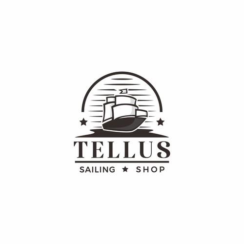 TELLUS Logo Design