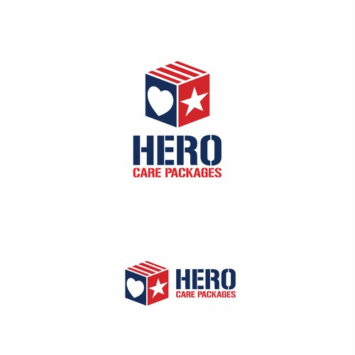 "Logo concept for ""Hero Care Packages"""