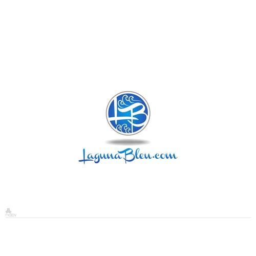 Capture Happiness and an Endless Summer at the Beach in Laguna Bleu's Logo