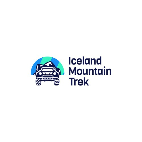 Iceland Mountain Trek Logo
