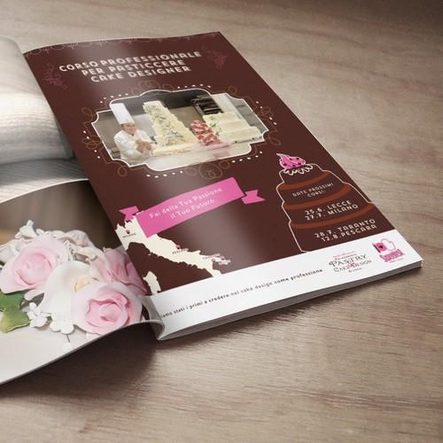 Magazine AD for Cake Design School