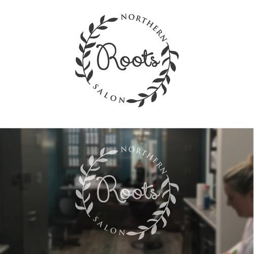 Northern Roots Hair Salon Logo