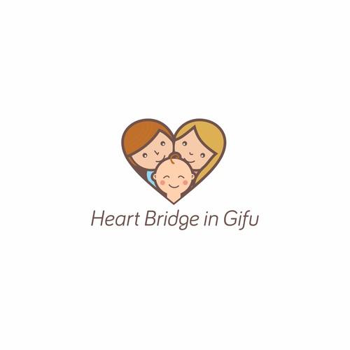 Logo Heart Bridge in Gifu