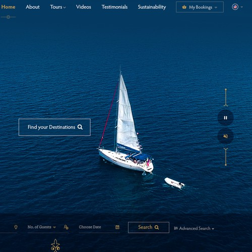 Luxury Travel Company Website Design