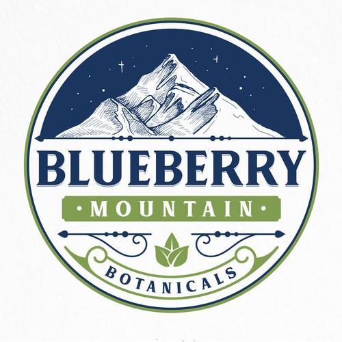 Logo for Blueberry Mountain Botanicals