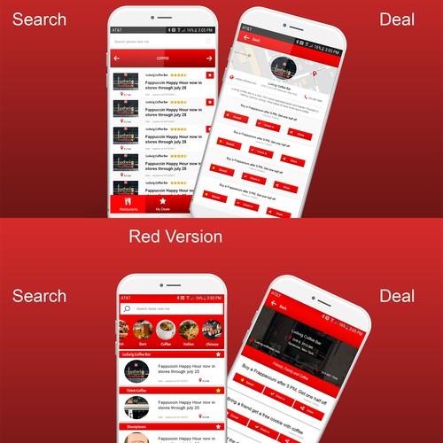 Mobile App for happy hour deals